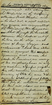 Nightingale Diary 1865