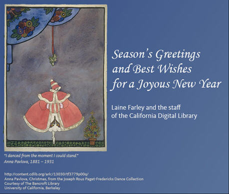 Season's Greetings and Best Wishes