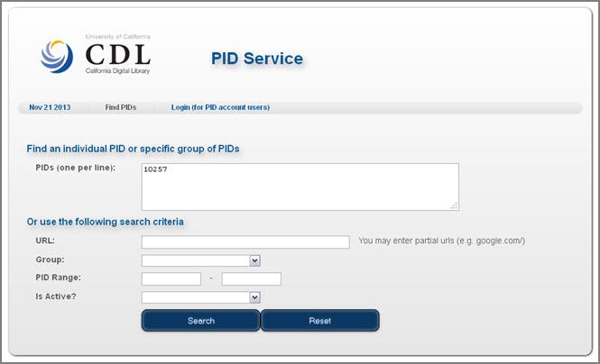 PID_Service