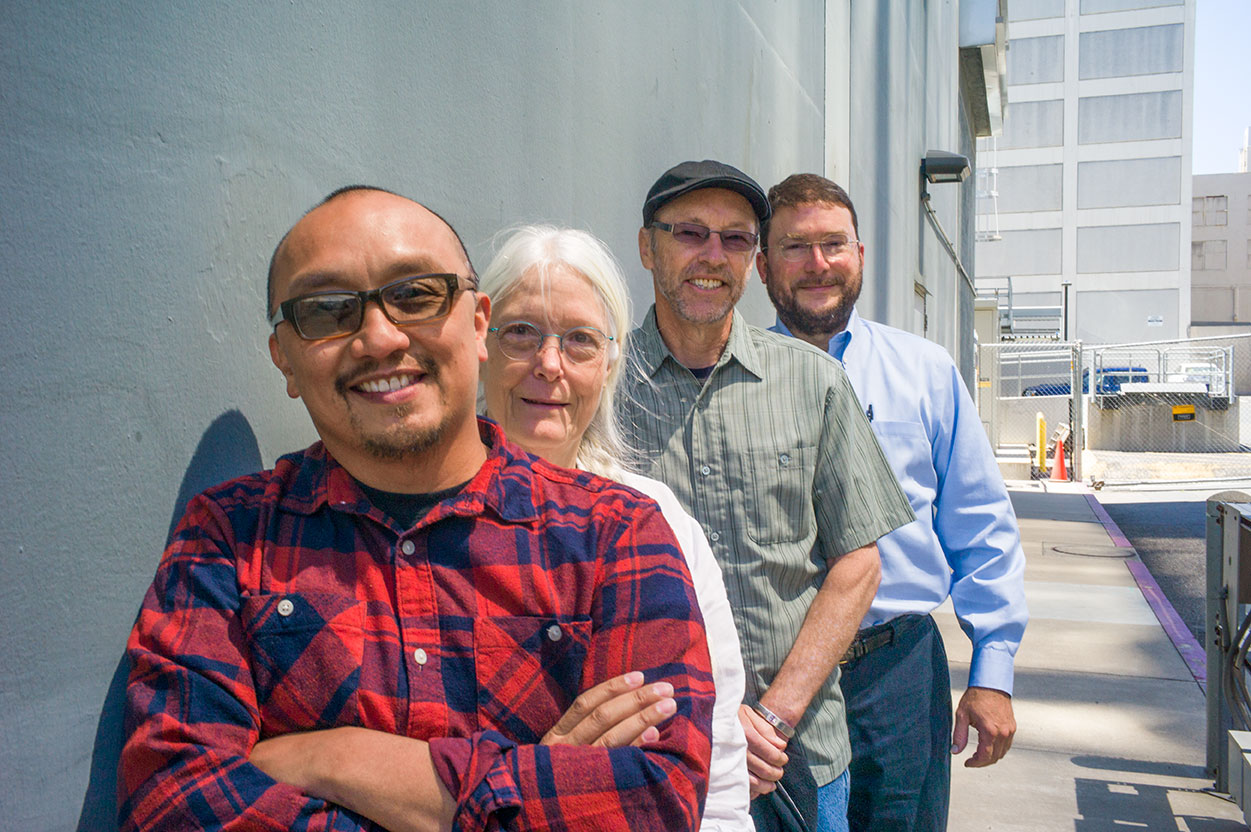 CDL's Infrastructure and Applications Support team group photo. Photo credit: Craig Thompson.