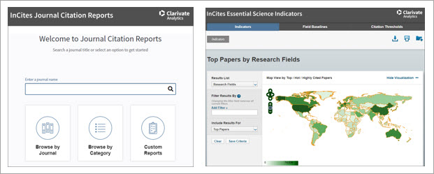 Clarivate Analytics Incites Jcr And Esi Url Change